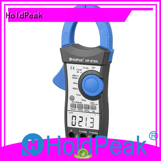 HoldPeak stable clamp meter tester dropshipping for smelting