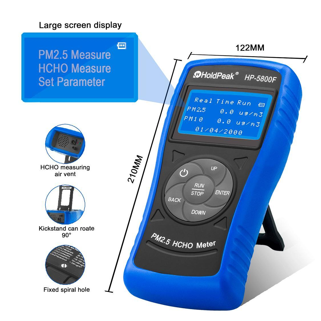 HoldPeak hp5800g air pollution monitoring app Suppliers for industry-3