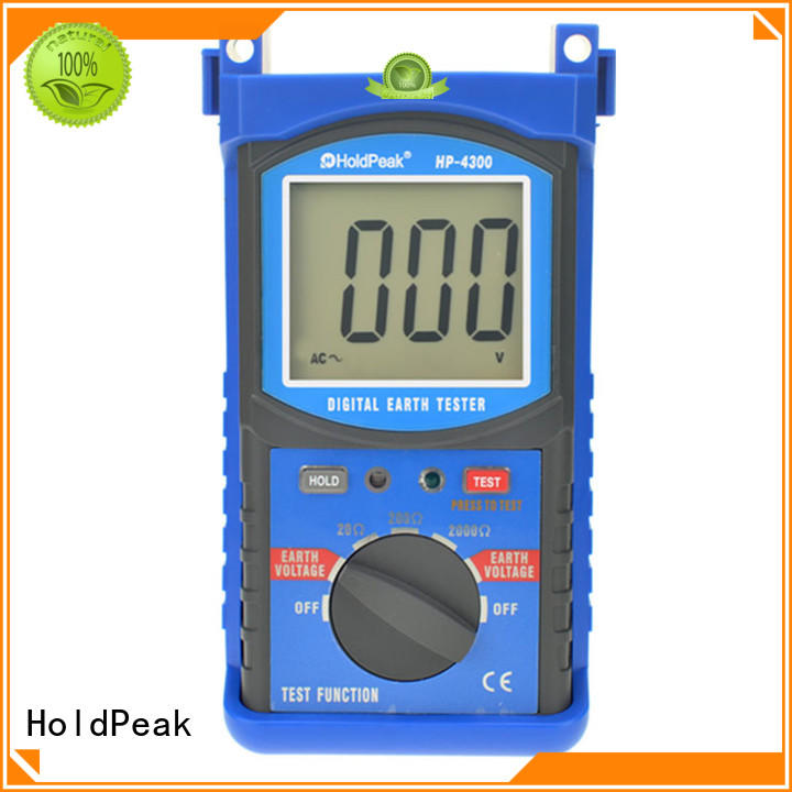 HoldPeak automatic earth clamp tester Supply for construction