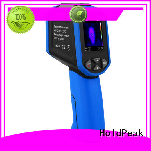 HoldPeak hp950d infrared thermal camera in different usage for fire