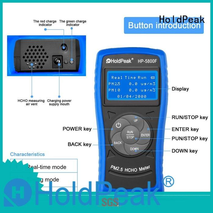 HoldPeak 0100ppm personal pollution detector Supply for office