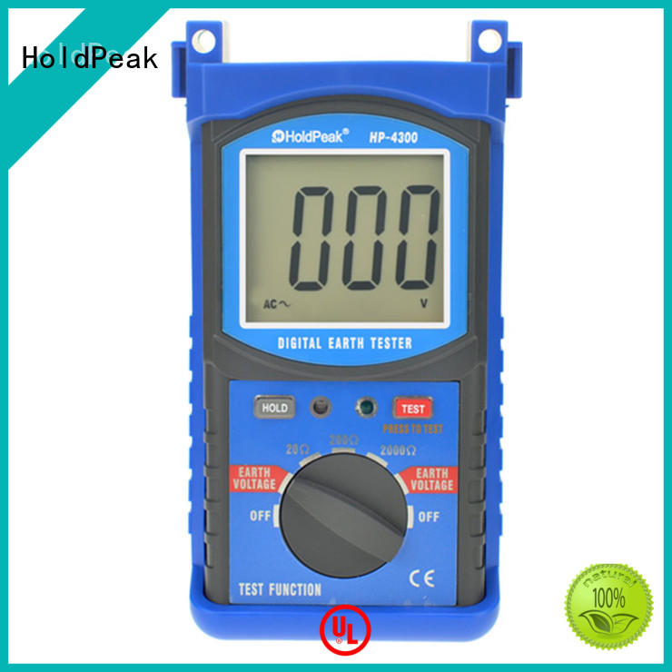 HoldPeak unique ground resistance meters for manufacturering for oilfield