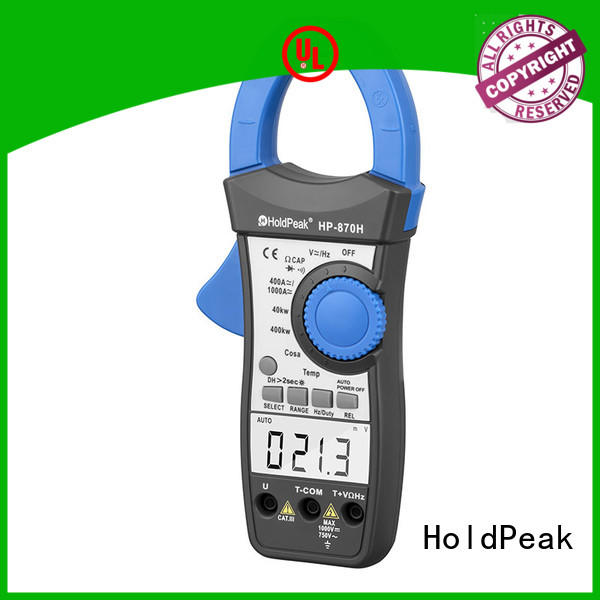 HoldPeak New clamp dc meter manufacturers for smelting