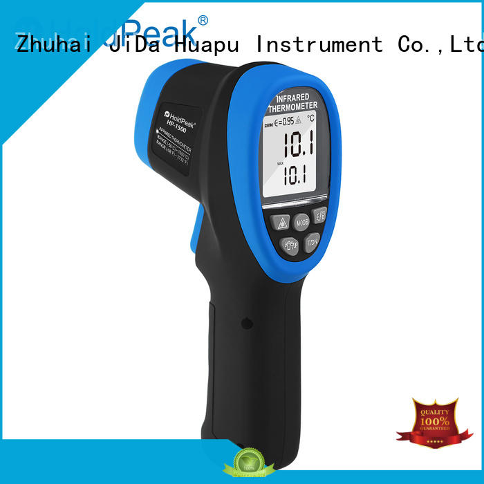 HoldPeak durable infrared scanning thermometer Supply for customs