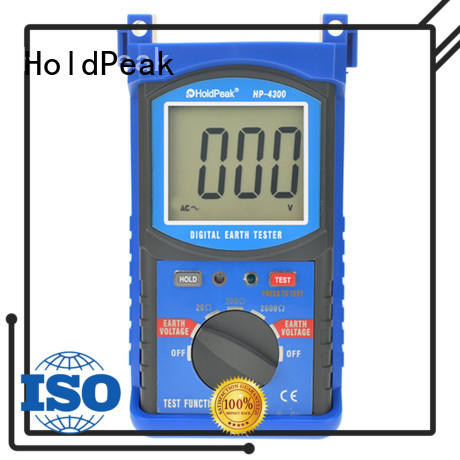 beautiful appearance digital earth tester earth factory for industrial electrical equipment industry