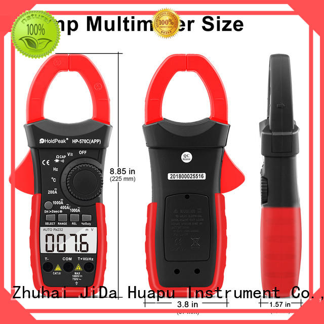 Wholesale ac dc amp clamp meter tester Supply for smelting