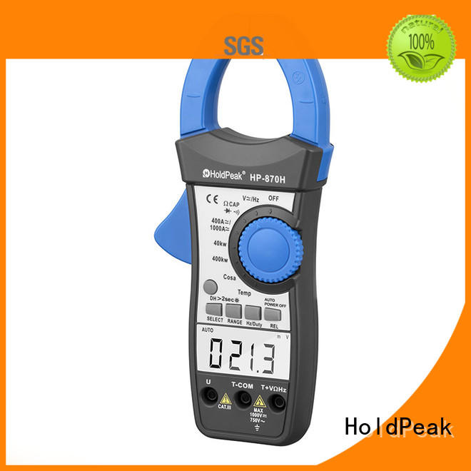 HoldPeak fashion design clamp meter case factory for electricity chemical industries