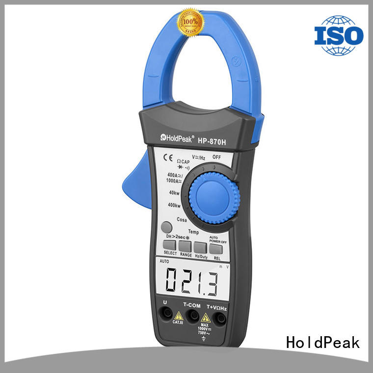 HoldPeak hp870c digital clamp ammeter manufacturers for petroleum refining industry
