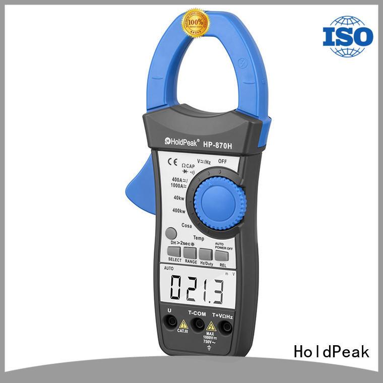 HoldPeak hp870c digital clamp ammeter manufacturers for petroleum refining industry