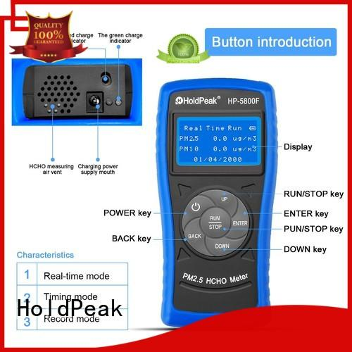 HoldPeak good-looking the personal pollution detector manufacturers for home