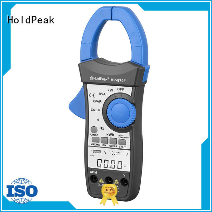 HoldPeak power clamp meter tester with many models for national defense