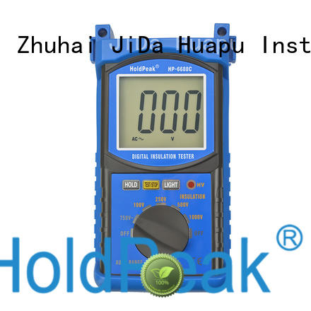 portable multimeter insulation tester export for verification HoldPeak