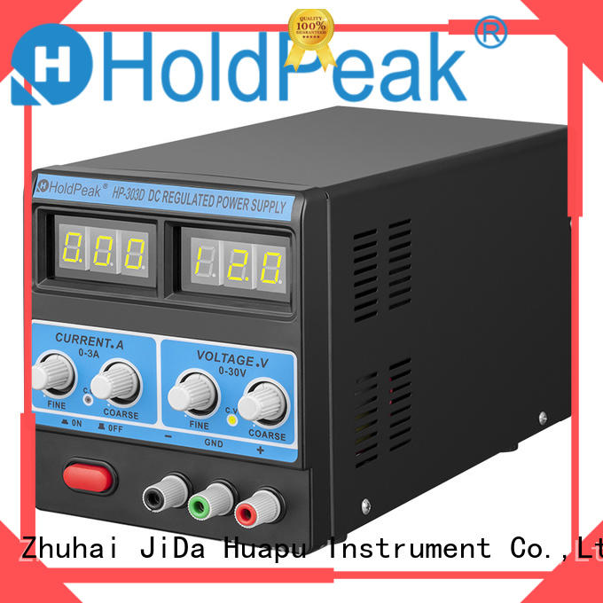HoldPeak Wholesale 120v to 12v wall adapter Supply for communcations for manufacturing