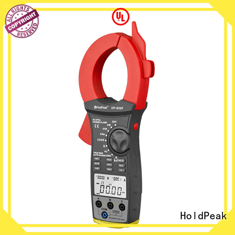HoldPeak durable clamp tester hp870c for communcations for manufacturing