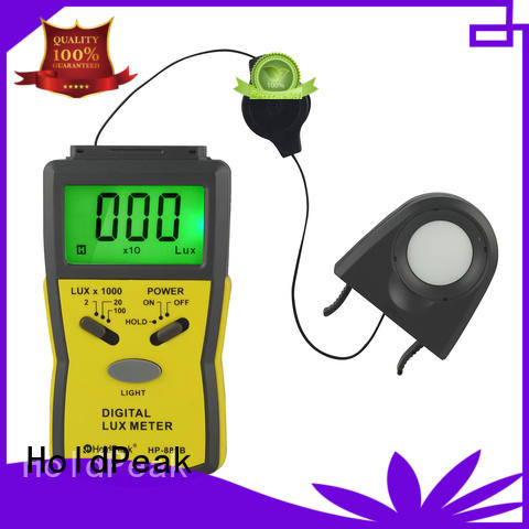 HoldPeak luxmeter analog lux meter for business for physical