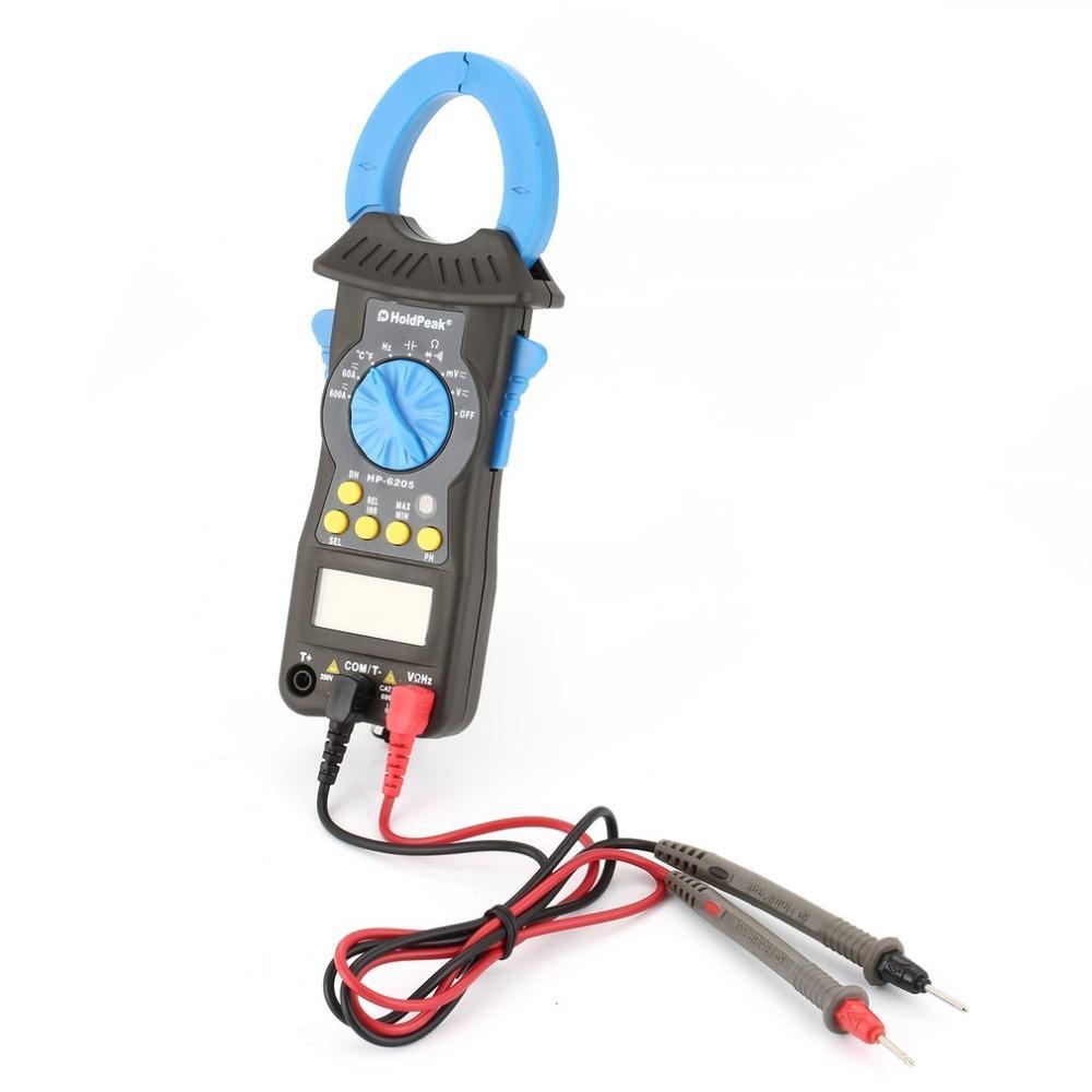 HoldPeak multimeter dc ammeter clamp on factory for smelting-3