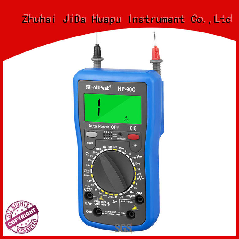 HoldPeak anti-dropping digital multimeter manual factory for physical