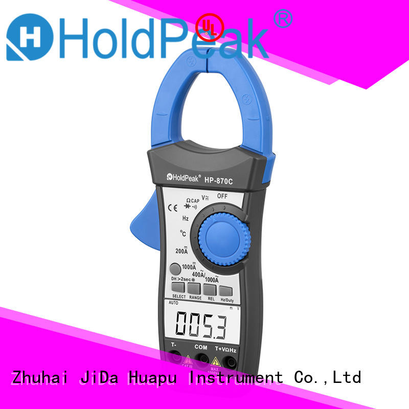 HoldPeak low mini dc clamp meter Suppliers for smelting