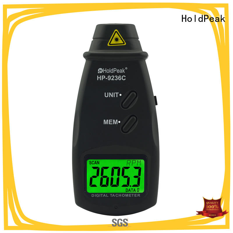 High-quality hand held tachometer speed for business for automobiles