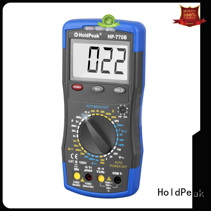 HoldPeak High-quality rapitest multimeter instructions manufacturers for electronic