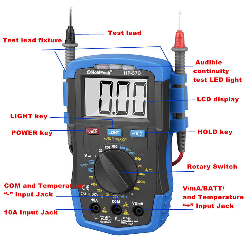 stable usb digital multimeter testing for business for electronic-1