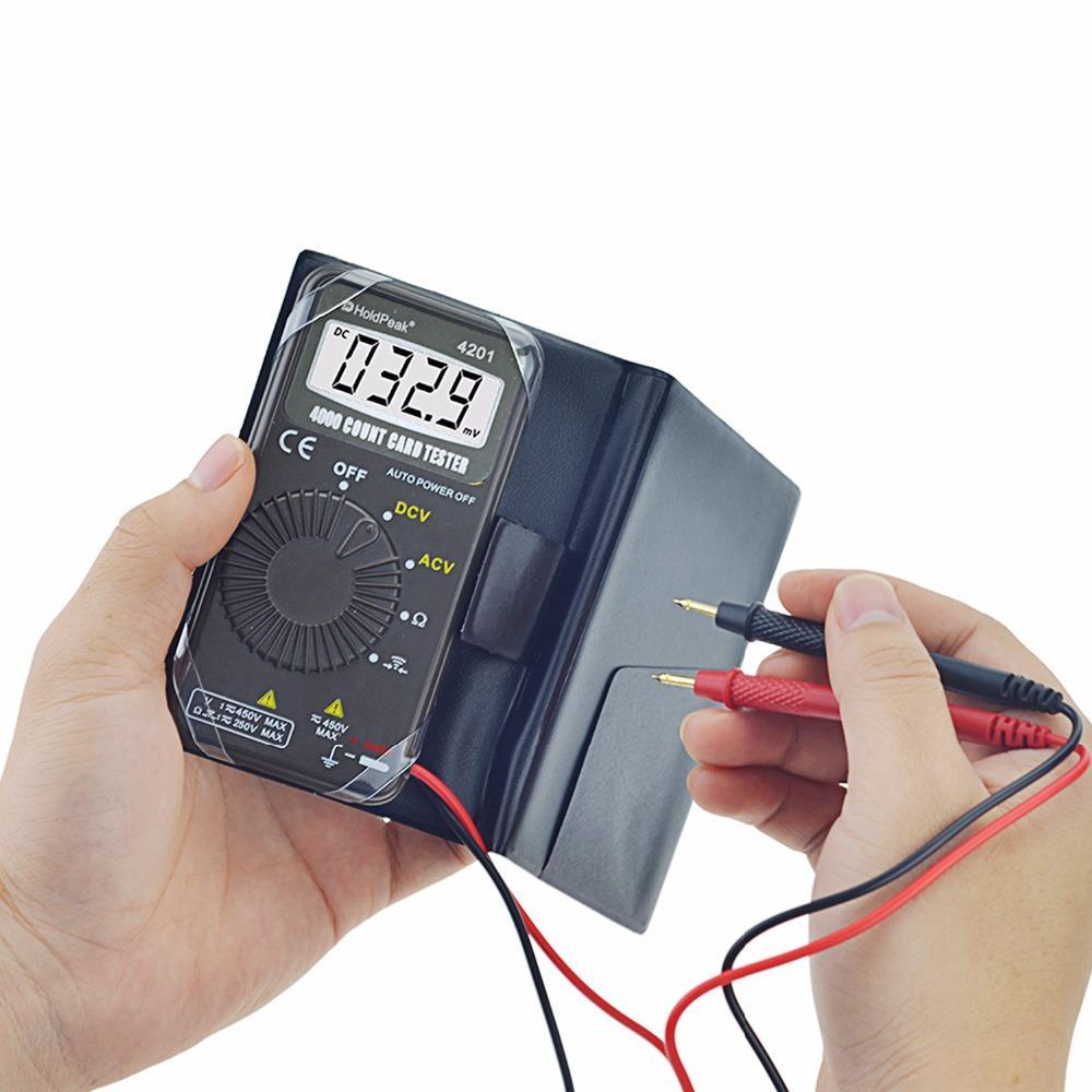 HoldPeak small digital multimeter voltmeter company for electronic-2
