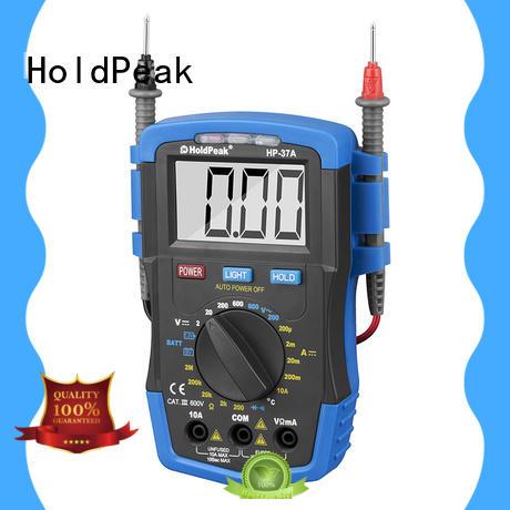 HoldPeak back digital volt ohm meter Supply for physical