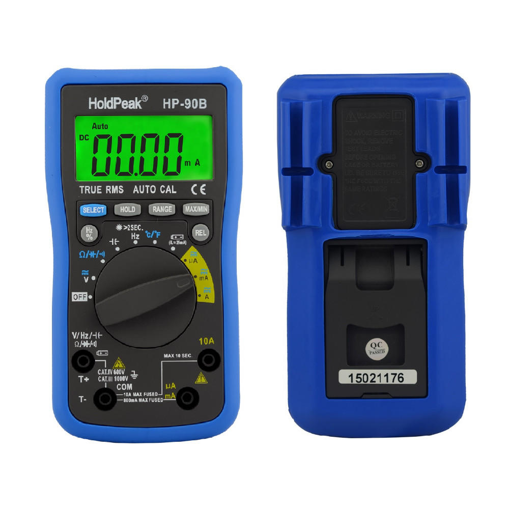 HoldPeak frequency digital multimeter for electronics Supply for measurements-2