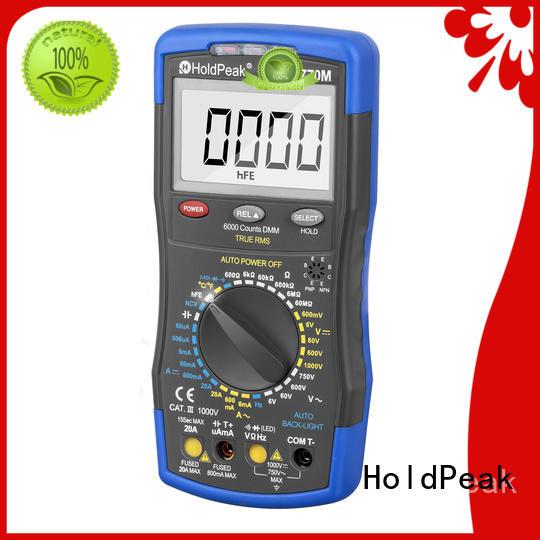 HoldPeak portable multimeter tester sale Suppliers for measurements