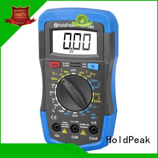 HoldPeak excellent automotive digital multimeter stable for measurements