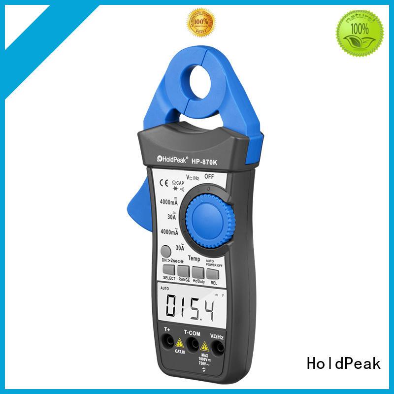 HoldPeak portable current clamp meter bulk promotion for national defense