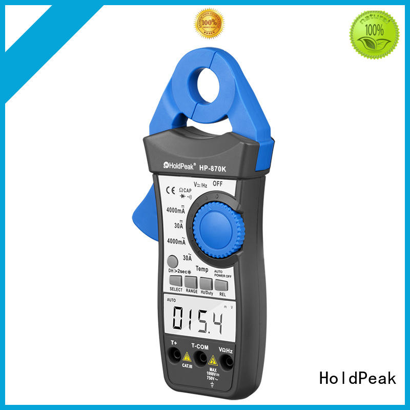 HoldPeak portable current clamp meter bulk promotion for national defense