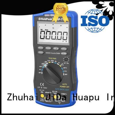multimeter manual power for physical HoldPeak