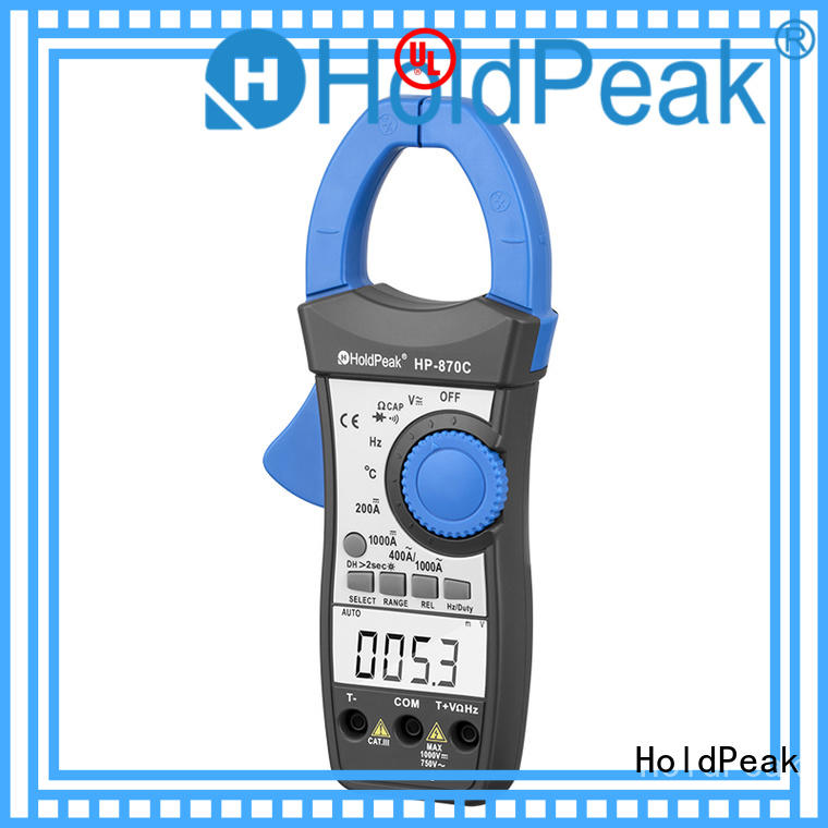 HoldPeak good looking power clamp meter with many models for electricity chemical industries
