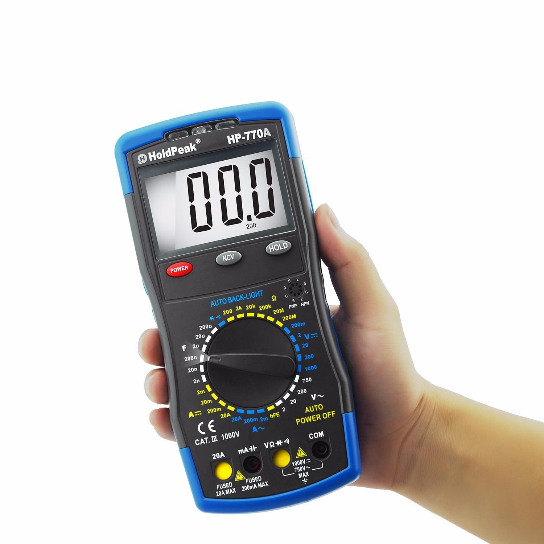 hot-sale automotive digital voltmeter multirange for business for electrical-1