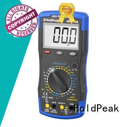 HoldPeak competetive price electrical multimeter supplier for measurements
