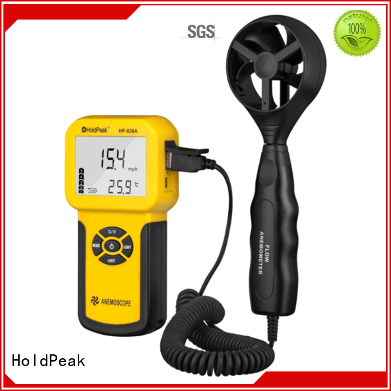 HoldPeak good price wind anemometer price Suppliers for tower crane
