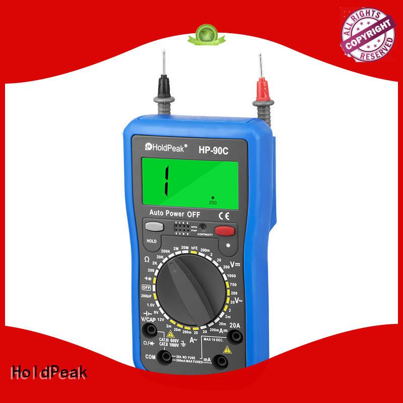 manual range select multimeter.diode test,hFE test,data backlight,HP-90C