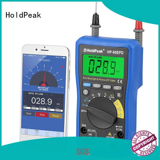HoldPeak buzzerdata digital multimeter meter for business for electrical