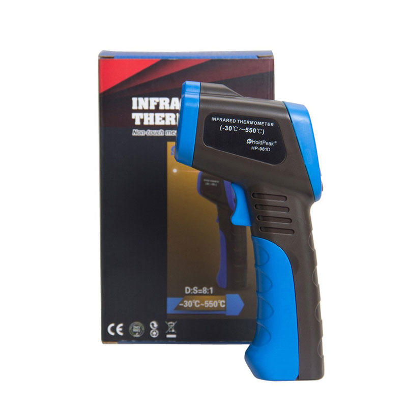 thermometer infrared thermometer, industry low price handheld infrared thermometer  HP-981D