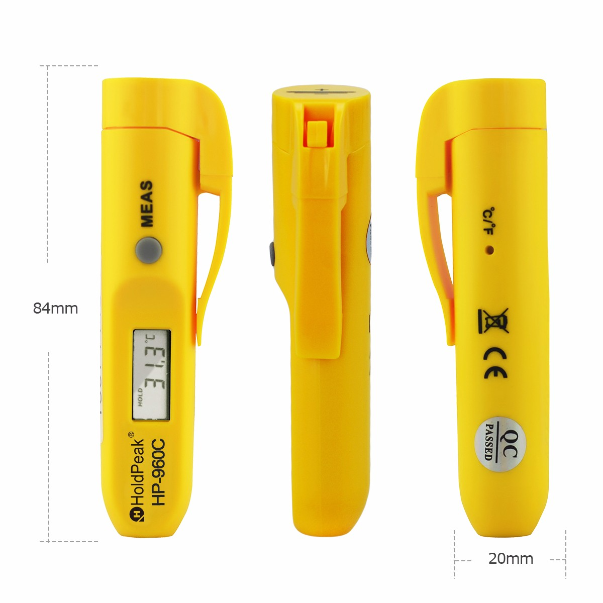 HoldPeak Best infrared thermometer scanner for business for customs-2