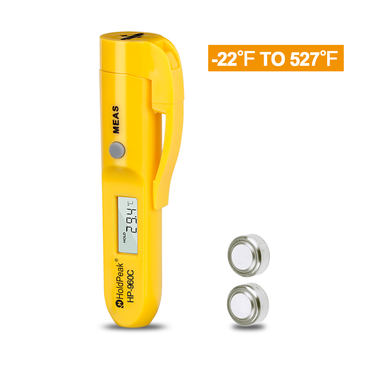 HoldPeak Best infrared thermometer scanner for business for customs-3