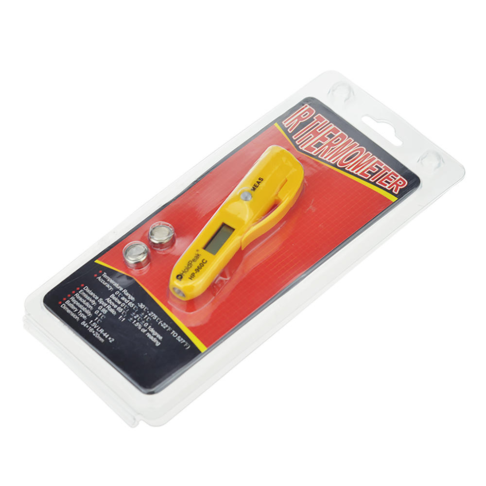 durable digital laser infrared thermometer digital button design for fire