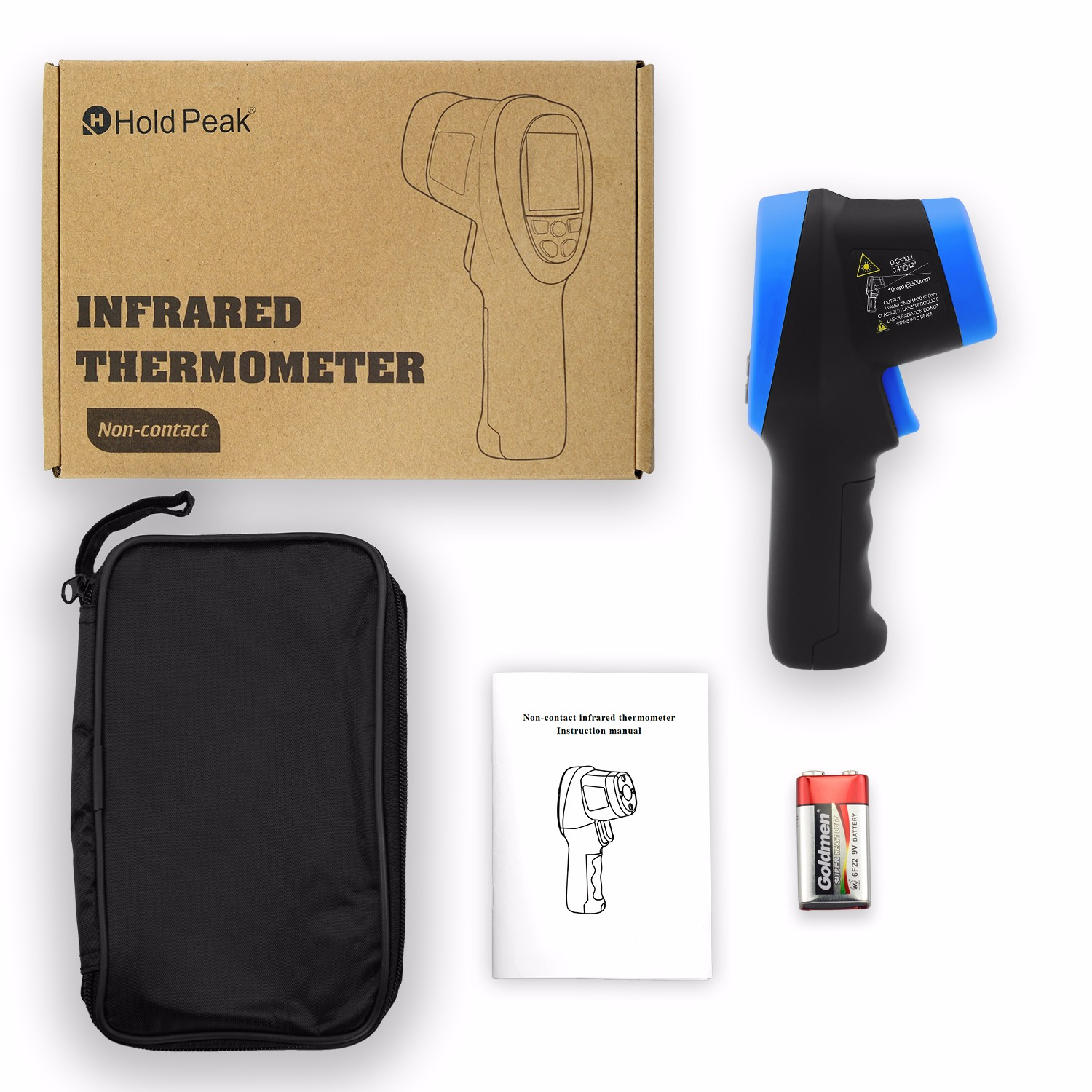 product-HoldPeak-Digital Laser Infrared Thermometer HP-1500-img