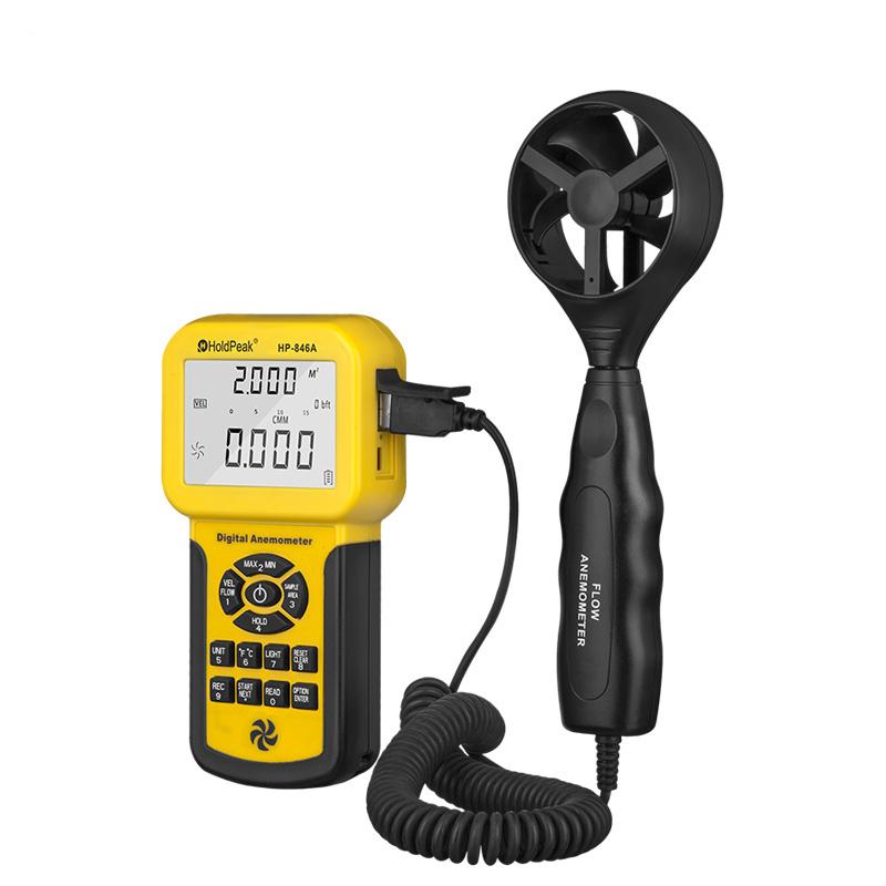 product-analog anemometer digital wind speed anemometer air flow meter HP-846A-HoldPeak-img