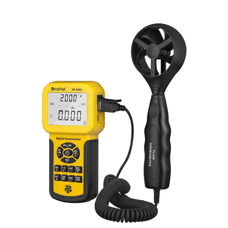 HoldPeak hp866b low flow anemometer for business for manufacturing-1