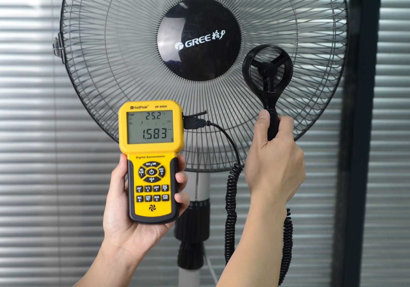 product-Digital Wind Speed meter USB Wind Speed Meter Anemometer HP-856A-HoldPeak-img