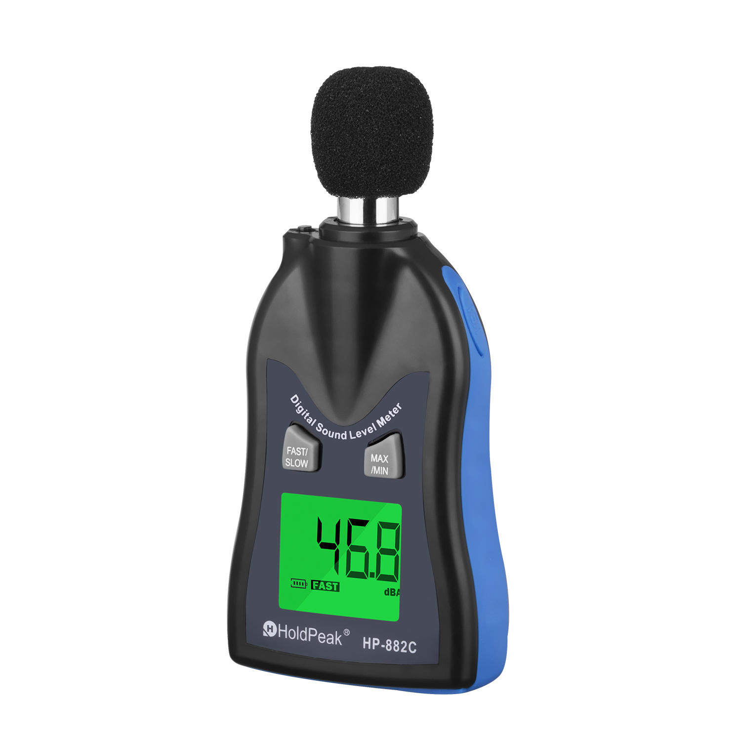 Digital Sound Level Meter, Architectural Acoustics Measurement HP-882C