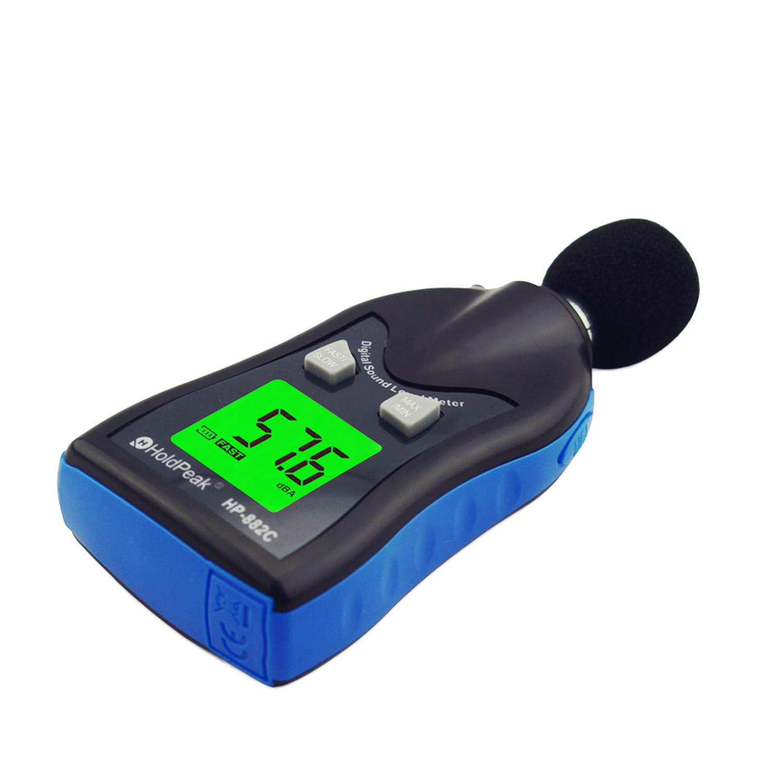 Digital Sound Level Meter, Architectural Acoustics Measurement HP-882C