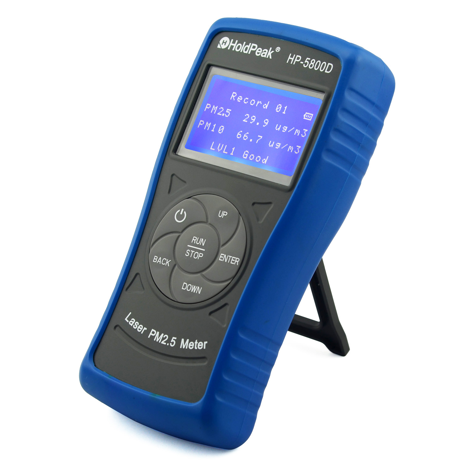 product-PM25 Tester, Digital portable air quality tester for PM25 HP-5800D-HoldPeak-img-1